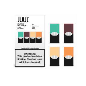 Juul 4-pod Pack (5% nicotine)