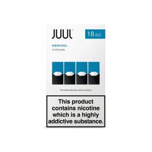 Juul Menthol (1.8% nicotine)