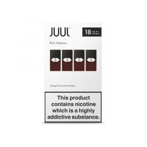 Juul Rich Tobacco (1.8% nicotine)